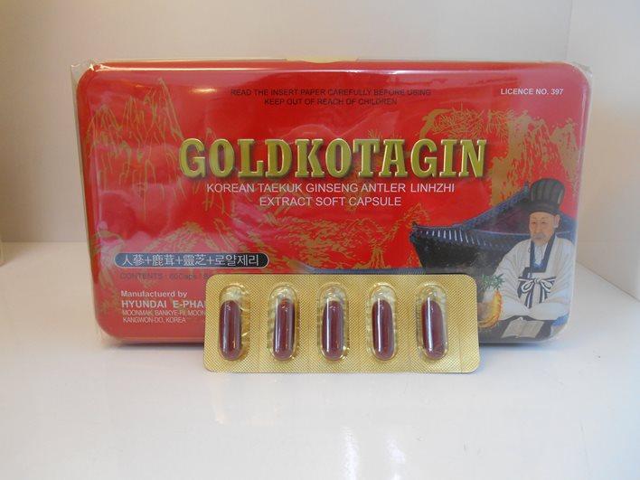 Viên Sâm Nhung Linh Chi GoldKotagin 60 viên