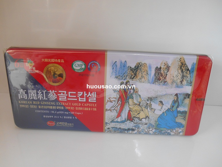 Viên Hồng Sâm- Nhung Hươu- Linh Chi KGS