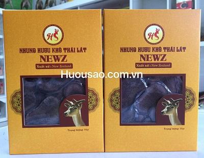 Hai hộp nhung hươu khô Newz loại I 30 gram
