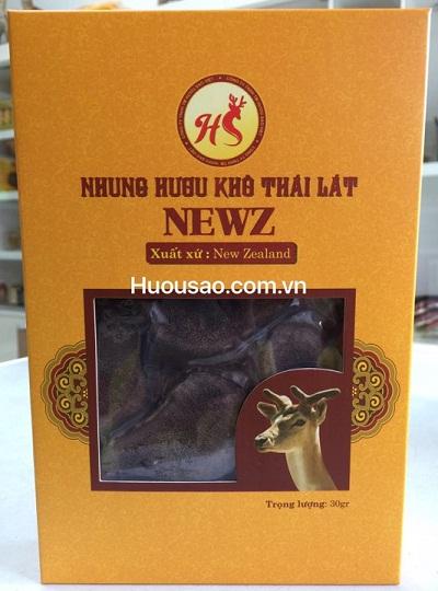 Hộp nhung hươu khô Newz 30 gram